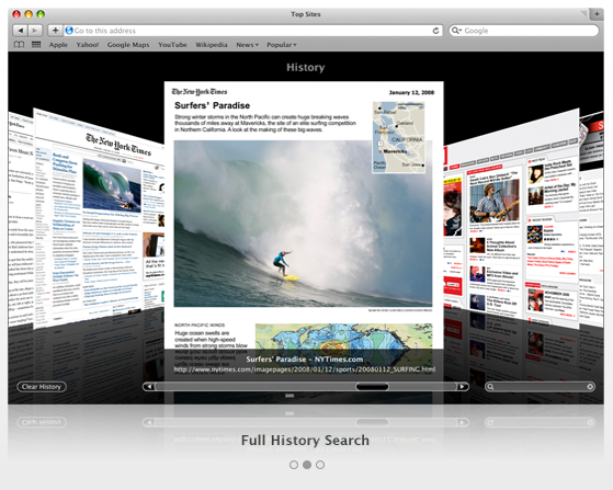 Safari Screenshot