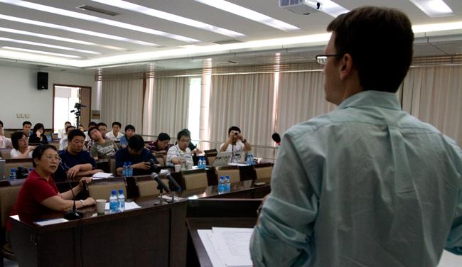 Presenting on Data Management