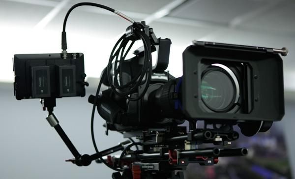 AF100 Camera system, SmallHD DP6 Field Monitor, Genus Rail System