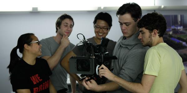 NUIT AMPS Students AF100 Demo
