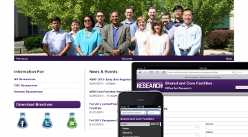 Core Facilities Screenshots