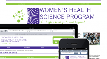 WHSP Website on iPad, iPhone and desktop